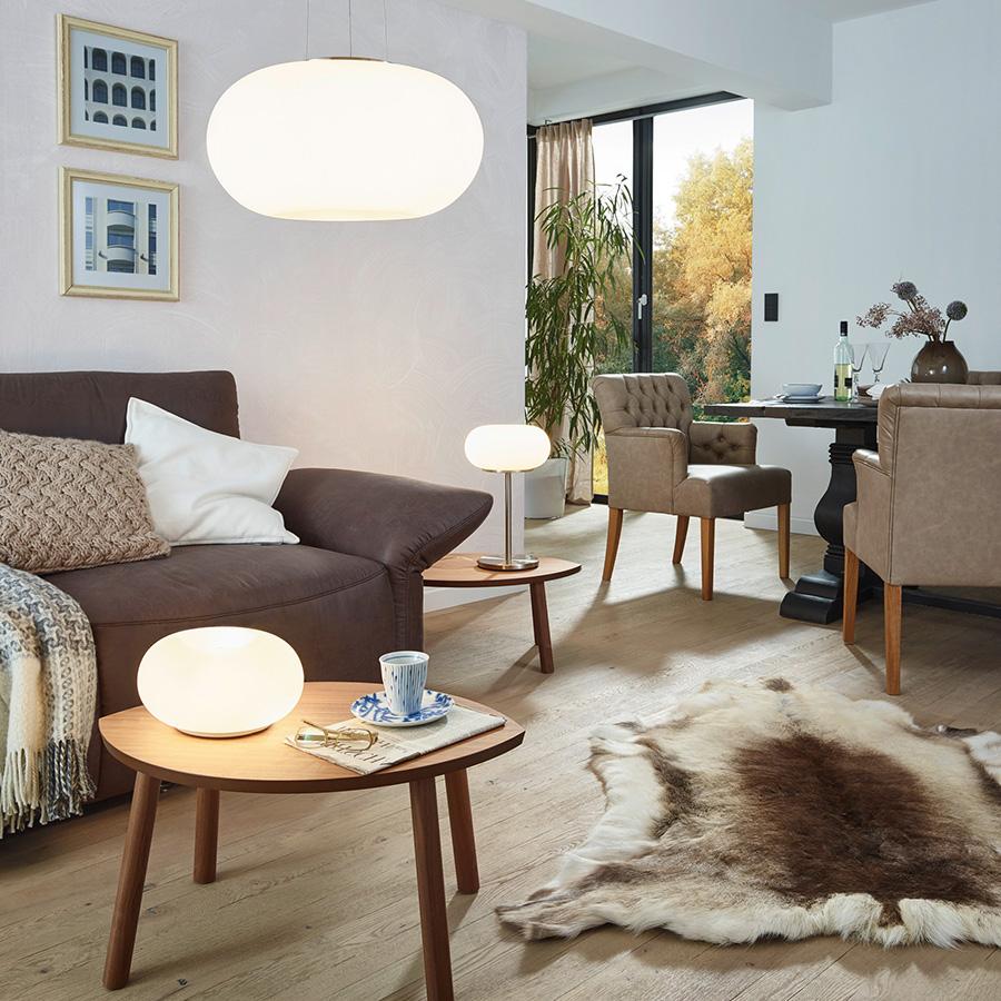 Illuminazione Salone Con Led come scegliere una lampada per il soggiorno?   luciamo
