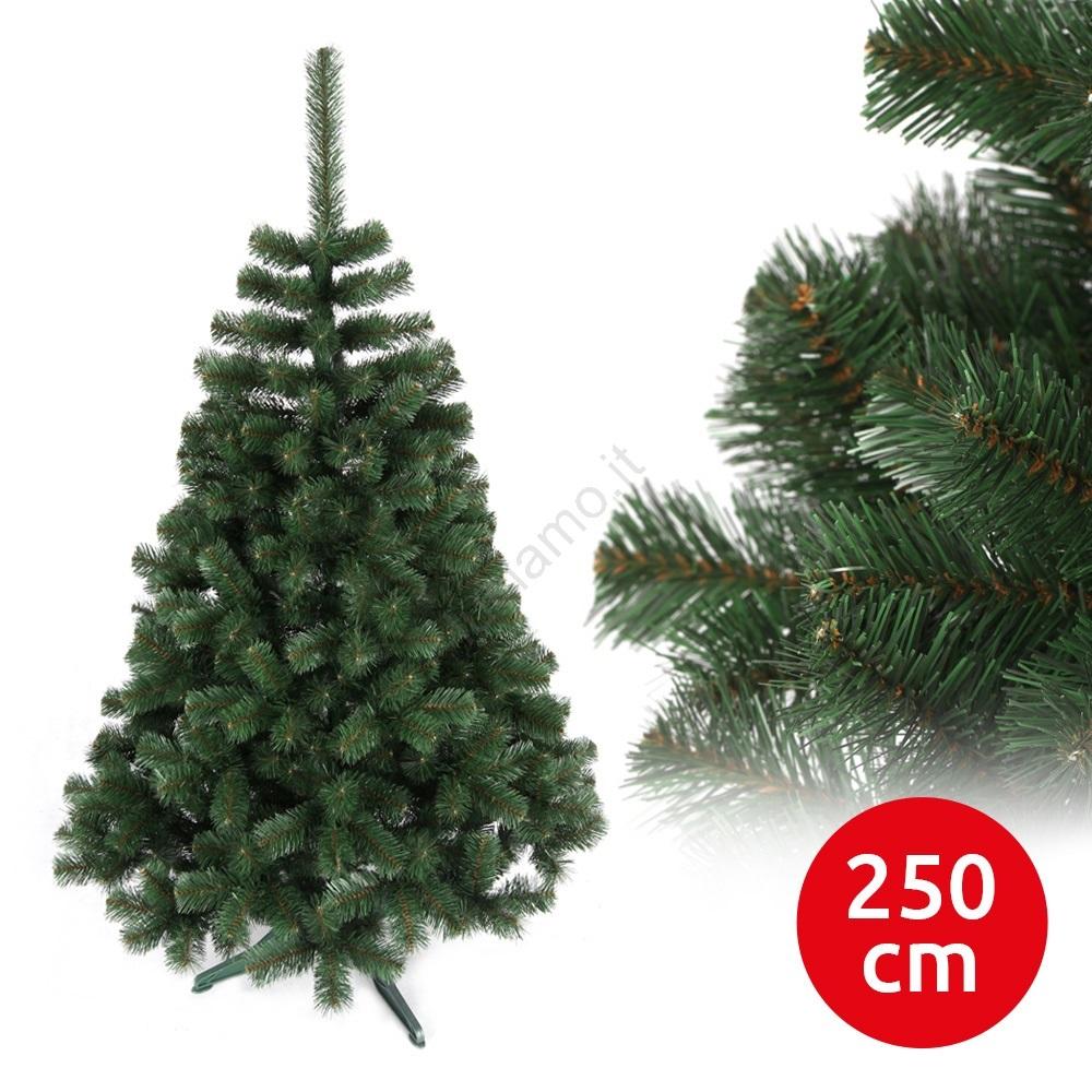 Albero Di Natale 250 Cm.Albero Di Natale Amelia 250 Cm Abete Luciamo