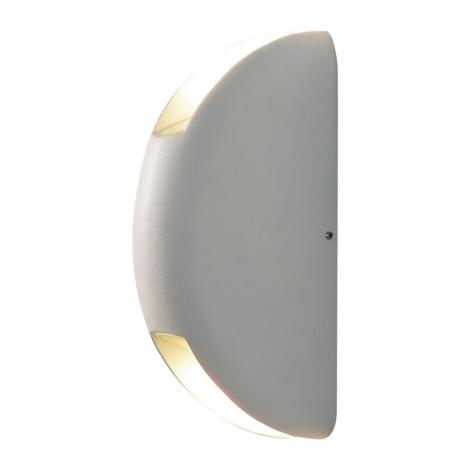 230v Bianco Da Ip44 A Esterno Led Led Wall Applique 6w Y6b7yfgv