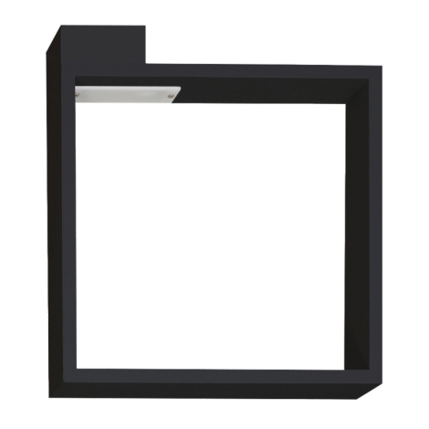 A Led Nero 6w 230v Frame Applique Led WIDE2H9