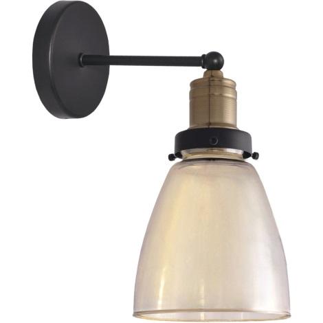 Loft Applique Glass 60w 1xe27 230v bfg6Y7yv