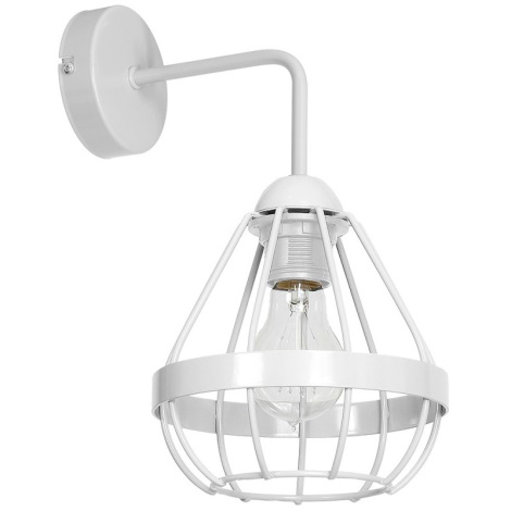 Applique 230v Bianco 60w Ring 1xe27 uXiPkZ