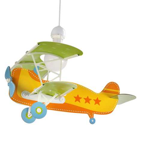 Planes 230v Bambini Per 60w Dalber 1xe27 54012Lampadario Baby IbgmY7vf6y