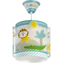 Dalber D-76112 - Lampadario per bambini MY LITTLE JUNGLE 1xE27/60W/230V