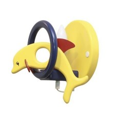 DELFINO applique giallo/blu 1xE14/40W