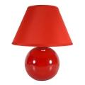 Eglo 23876 - Lampada da tavolo TINA 1xE14/40W/230V rosso