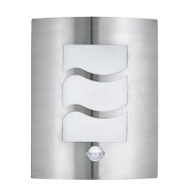 EGLO 30194 - Applique a LED da esterno con sensore CITY 1 1xE27/10W/230V IP44