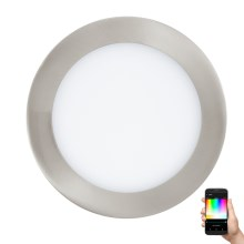 Eglo 32754 - Lampada LED RGB da incasso dimmerabile FUEVA-C LED/10,5W/230V
