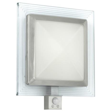 Eglo 1 Pali 1xe27 Con 28w 15w1xled 88163Applique Bianco Sensore roexBQdECW