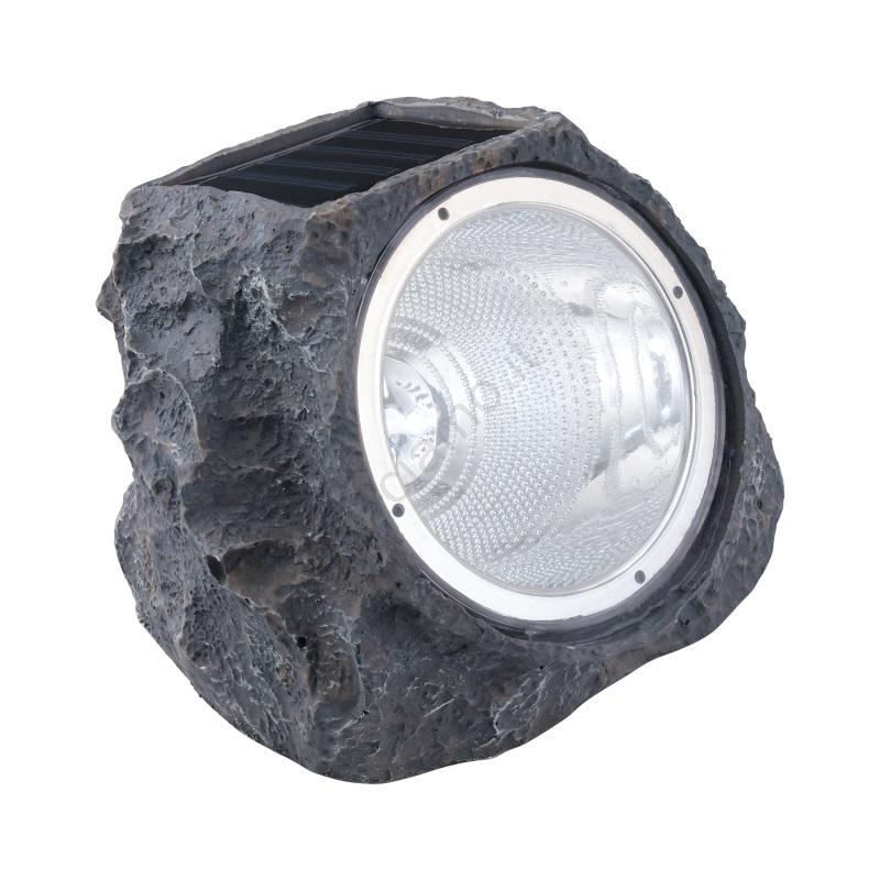 EGLO ROCCIA 4 LED SOLARE PLASTICA GRIGIA 90494