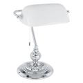 Eglo 90968 - Lampada da tavolo  BANKER E27/60W