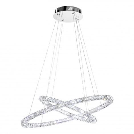 Eglo 93946 Lampada A Sospensione Di Cristallo Toneria Led 64w 230v