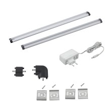 Eglo 94693 - SET 2pz Illuminazione LED sottopensile VENDRES 2xLED/3W/230V