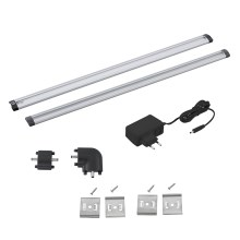 Eglo 94694 - SET 2pz Illuminazione LED sottopensile VENDRES 2xLED/5W/230V