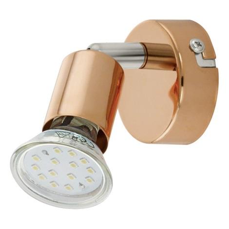 Eglo 94772 - Faretto LED BUZZ-COPPER 1xGU10/3W/230V