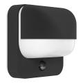 Eglo 94853 - Lampada da esterno con sensore TRABADA 1xE27/40W/230V