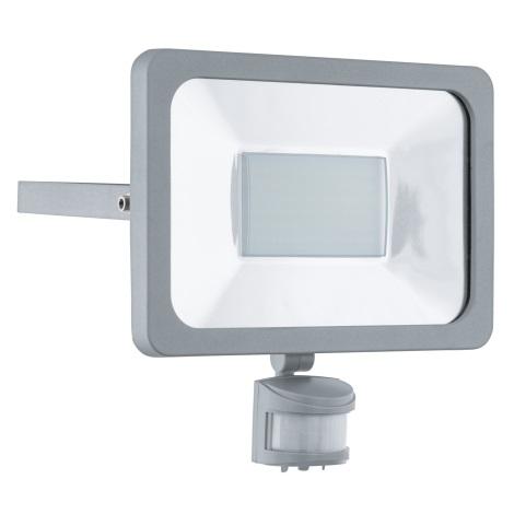 1xled 1 230v 95411Riflettore Led Con 50w Faedo Sensore Eglo nmO8w0vN