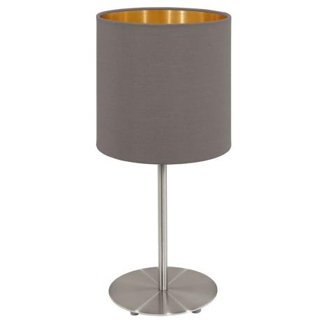 Eglo 95727- Lampada da tavolo PASTERI 1xE14/40W/230V