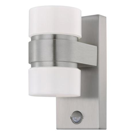 Atollari 2xled Con Sensore 6w Esterno Da Eglo 96277Applique QreoCdxWB