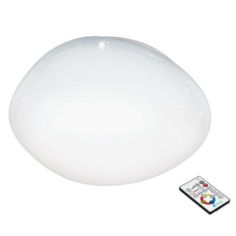 Eglo 97578 - Plafoniera LED dimmerabile con telecomando SILERAS 1xLED/34W/230V