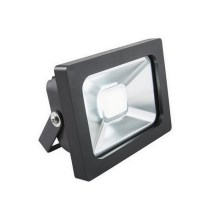 EGLO Blooma - Riflettore LED MANTA LED/10W/230V IP65 nero