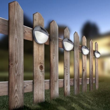 06w 33429 Solare Led Solar 0 Globo 2xled 1 2v 12Applique bf76vgYy