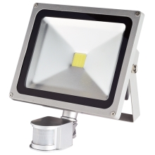 Greenlux - Riflettore LED con sensore 1xLED/30W/230V IP44