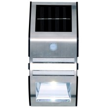 Grundig - Applique a LED solare con sensore 1xLED IP44