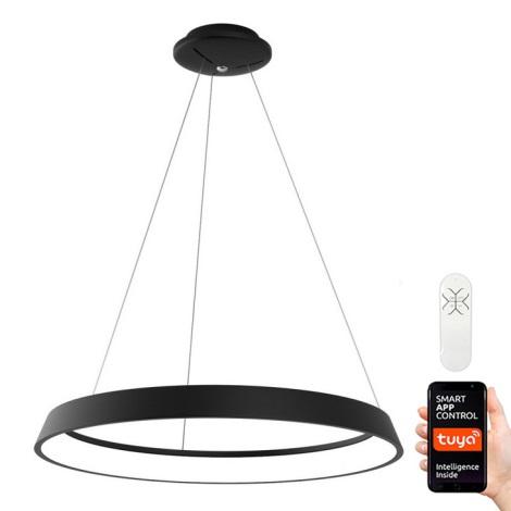 Immax NEO - Lampadario LED dimmerabile a sospensione con filo LIMITADO LED/39W/230V 60 cm nero Tuya