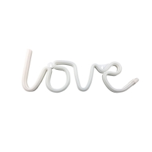 Insegna decorativa al neon LOVE 3xAA