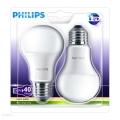 KIT 2x Lampadina LED Philips E27/6W/230V