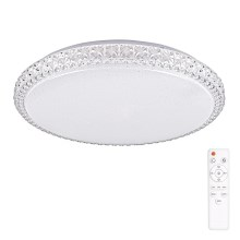 Lampada da soffitto LED dimmerabile IRINA LED/24W/230V con telecomando