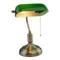 Lampada da tavolo BANKER 1xE27/60W/230V