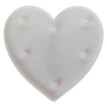 Lampada decorativa LED HEART LED/2xAA
