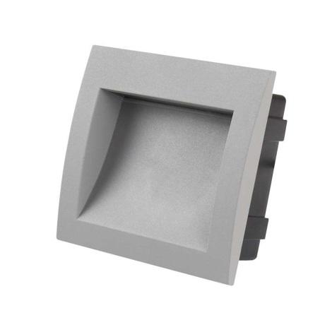 Orientamento Incasso 1xled in Di Ad Lampada Led Bianco Caldo 3w Ip65 Built LqSUjVpMzG