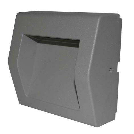 Fissa Surface Bianco Ip54 1xled Caldo Lampada Led Di Orientamento 6w kPXZiu