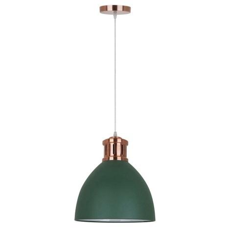 1xe27 Lampadario 230v 60w Verde 30cm BdoexC