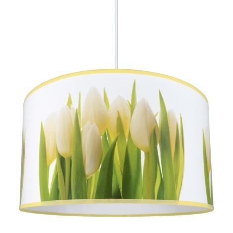Filo A Lampadario 1xe27 60w Con Tulips Sospensione 230v cKJ1F3lT