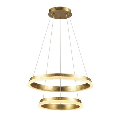 A Con Golden Lampadario Filo Led Sospensione 230v Led 66w b6gYI7vfy