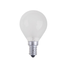 Lampadina industriale BALL FROSTED E14/25W/230V