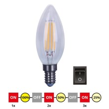 Lampadina LED dimmerabile E14/4W/230V C35