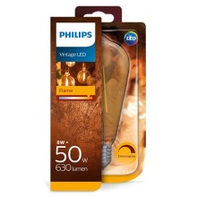 Lampadina LED dimmerabile Philips E27/8W/230V 2000K