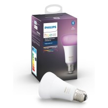 Lampadina LED dimmerabile Philips HUE WHITE AND COLOR AMBIANCE E27/9W/230V 2000-6500K