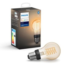 Lampadina LED dimmerabile Philips HUE WHITE FILAMENT A60 E27/7W/230V