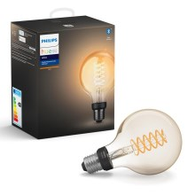 Lampadina LED dimmerabile Philips HUE WHITE FILAMENT G93 E27/7W/230V 2100K