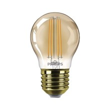 Lampadina LED dimmerabile VINTAGE  E27/5W/230V - Philips