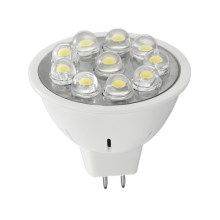 Lampadina LED per riflettore MR16 GU5,3/3W/12V 6400K