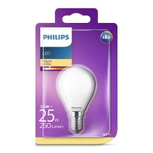 Lampadina LED Philips E14/2,2W/230V