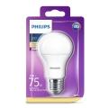 Lampadina LED Philips E27/11W/230V 2700K