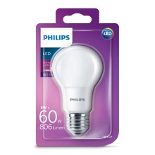 Lampadina LED Philips E27/8W/230V 2700K